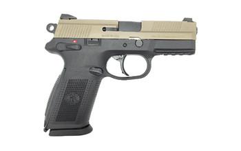 FN Fnx-9 Da/Sa Black/Fde MS 2-17Rd