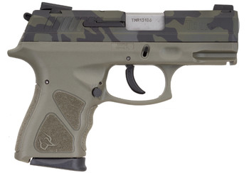 "TAURUS TH9 9MM CAMO/ODG 4.3"" 17+1 MS"