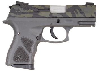 "TAURUS TH9 9MM CAMO/GRAY 4.3"" 17+1 MS"
