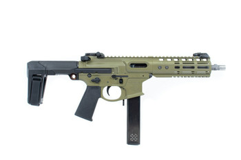 Noveske Space Invader Pistol Qbrace Green  9MM 8.5