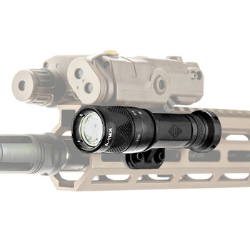 REPTILLA CORP TORCH 3V/CR123 BLACK M-LOK LIGHT BODY LEFT SIDE 100-044