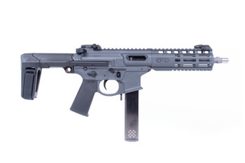 Noveske Space Invader Pistol Qbrace Grey 9MM 8.5