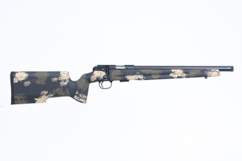 "CZ 457 Varmint .22 LR 5RD 25.875"" Barrel Precision Trainer Camo Rifle"