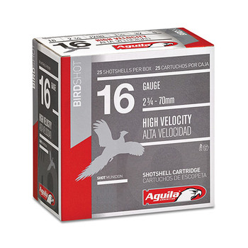Aguila 16Ga 1200Fps 2.75 1-1/4Oz #7.5 25/10