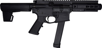 """10 Ring Marketing 9MM AR Style 5.5""""Blk Pistol"""