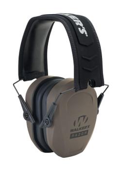 Walkers  Razor Pro Passive Earmuff 27 dB Flat Dark Earth
