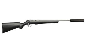 CZ 455 American SR 22Lr Black 5RD - Cz45502114-Pkg