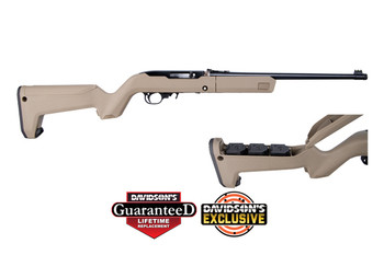 RUGER 10/22 22LR 10RD FDE 4MAGS