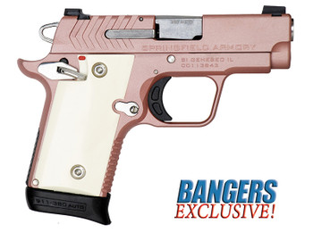 SPRINGFIELD ARMORY 911 .380 ACP Rose Gold Exclusive     6rd