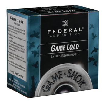 """FEDERAL Game Load 12ga 2.75"""" 3.25dr   1oz    6/"""