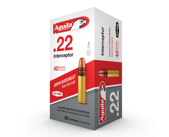 AGUILA 22 LR Interceptor 40 GR SP 1470FPS 500rd