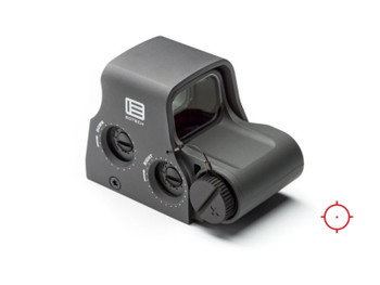 Eotech XPS20GREY XPS2 Holographic Weapon Sight 1x 68 MOA Ring/1 MOA Red Dot Gray CR123A Lithium (1)