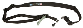 """Blue Force Gear VCAS2TO1RED Vickers 221 Adjustable x 2"""" Included RED Swivel Cordura Black Padded"""