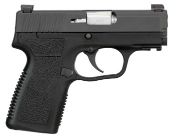 "Kahr Arms KPC9394N PM9 Covert 9mm Luger Double 3.10"" 8+1 Polymer Frame Black Stainless Steel Slide"