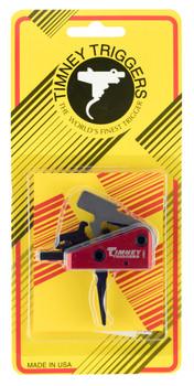 Timney Triggers 662S-ST Targa Short Trigger  AR-Platform Two-Stage Straight 2.00 lbs