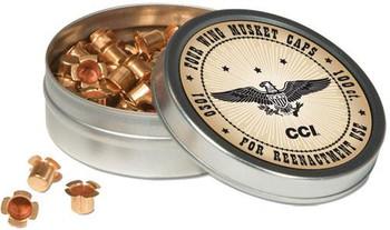 CCI 301 Muzzleloader Musket Caps Brass 1000/5