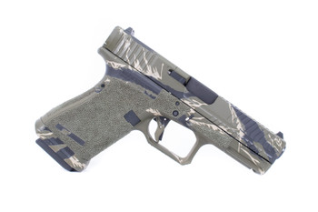 Agency Arms G19 Peacekeeper Tiger Striper 2-Tone AOS