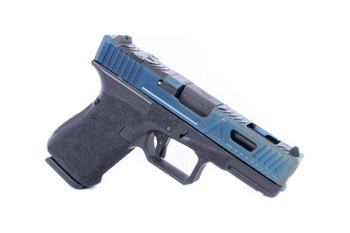 Agency Arms G19 G4 EXA Blue PVD Midline Barrel DLC