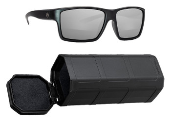 Magpul MAG1025-065 Explorer  Grey/Silver Mirror Polycarbonate Lens Black Frame