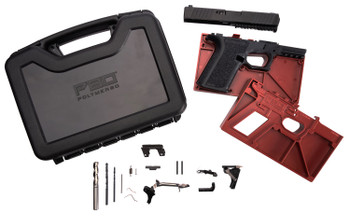 Polymer80 PF940CBBSBLK PF940C Buy Build Shoot Kit Glock 19/23 Gen3 Polymer Black 15rd