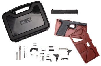 Polymer80 PF940V2BBSGRY PF940v2 Buy Build Shoot Kit Glock 17/22 Gen3 Polymer Gray 15rd