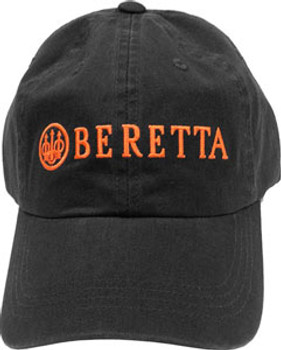 BERETTA CAP BERETTA LOGO COTTON TWILL CHARCOAL GREY
