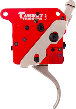 TIMNEY TRIGGERS TRIGGER REMINGTON 700 W/SAFETY 2 STAGE NICKEL