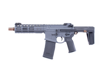 Noveske GEN 4 Ghetto Blaster 300Blk 7.94 Qbrace Pistol Mlok Grey