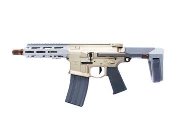 """Q Honey Badger 300 BLK 7"""" Pistol"""