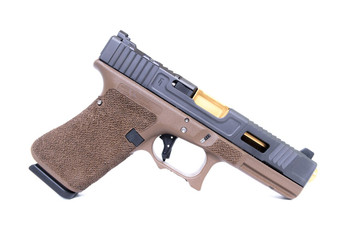 Fowler Industries Costa Ludus Covert FDE G17/19 Gen 4 TIN Barrel