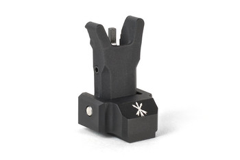 Unity Tactical Fusion Folding Front Sight Black