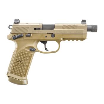 """FN 66982 FNX Single/Double 45 ACP 5.3"""" 10+1 FDE IN"""