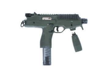 "B&T TP9-N PISTOL 9MM 5"" 30Rd ALPINE GREEN W/ MATCHING FRONT GRIP"