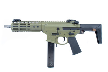 Noveske Space Invader Green 9MM 8.5 SBR