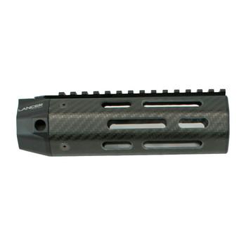 LANCER Carbine Length Carbon-Fiber Handguard Full Length Sight Rail