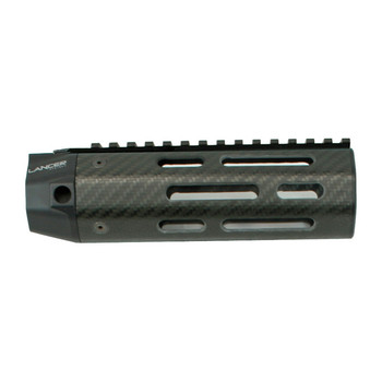 LANCER Carbine Length Carbon-Fiber Handguard Full Length Sight Rail