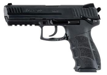 """HECKLER & KOCH 81000126 P30L V3 DA/SA 9mm Luger 4.45"""" 10+1 Black Black Long Steel Slide Black Interchangeable Backstrap Grip Ambi Safety"""