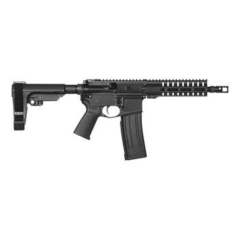 "CMMG 54A241B Banshee 200 MK4 5.7x28mm 8"" 20+1 Black Hard Coat Anodized Black Magpul MOE Grip CMMG Pistol Tube"
