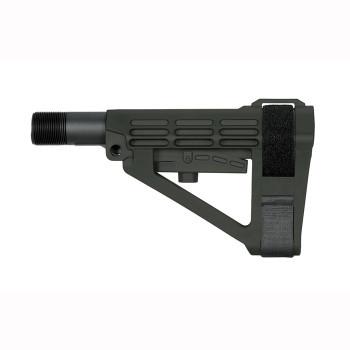SBA4 5-Position Adjustable Brace Stealth Grey