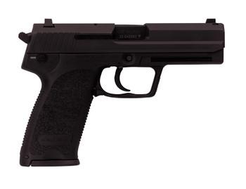 """H&K M704507A5 USP45 Law Enforcement Modification 45ACP 4.4"""" 12+1 Syn Grips Blk"""