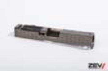 ZEV Technologies HexCut Grey G19 Absolute Cowitness with RMR Cover Plate Gen 3 Slide