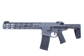 Noveske GEN 4 N4-Pdw-Sd Grey 300Blk 7.94 Qbrace Pistol Mlok (Suppressor Ready) (02000877-GREY)