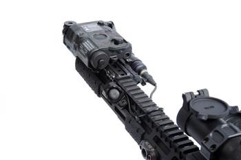 """Unity Tactical Hot Button MLOK Surefire 9"""" Black"""
