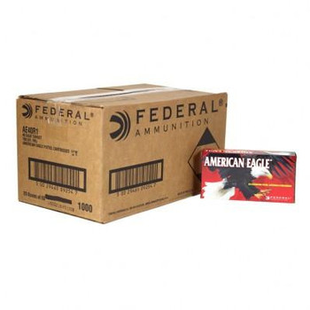 American Eagle Handgun Ammunition .40 S&W 180 gr 1000 fps FMJ 1000/ct