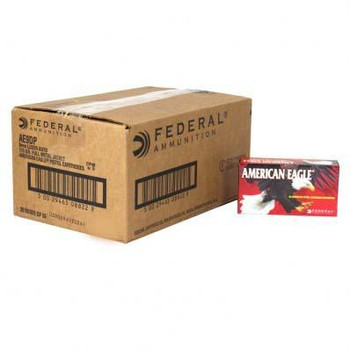American Eagle Handgun Ammunition 9mm 115 gr FMJ 1180 fps 500/ct
