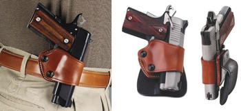Galco Walter PPK PPKS Yaqui Paddle Holster Right Hand Tan