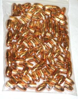 "Hornady FMJ Handgun Bullets 9mm .355"" 115 gr FMJRN 100/bag"