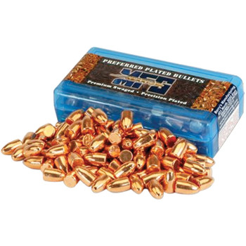 Berry's Preferred Plated Pistol Bullets 9mm .356 124 gr FP 1000/ct