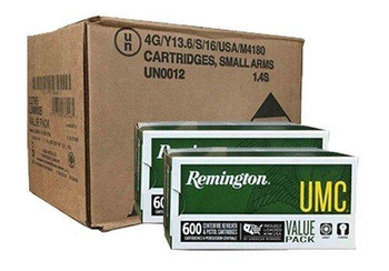 9MM UMC 115GR METAL CASE 1200RDS
