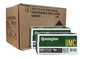 9MM UMC 115GR METAL CASE 1200RDS